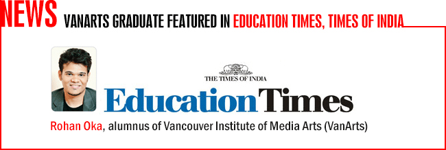 Rohan Oka - Education Times feature
