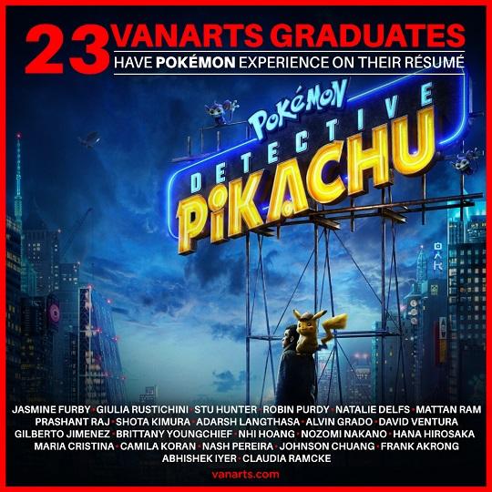 Detective Pikachu grad success vanarts