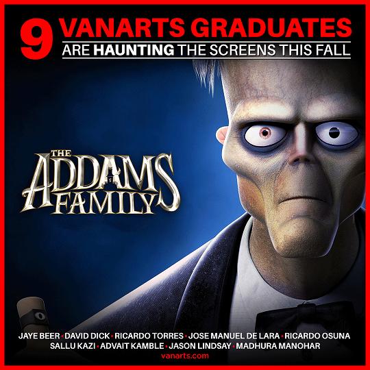Addams Family Animation credits
