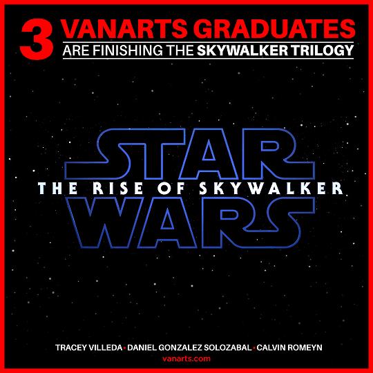 Rise of Skywalker VFX program grads