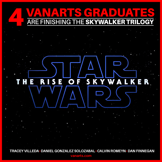 Star Wars Rise Skywalker visual effects VanArts